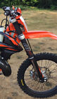 KTM SX SXF EXE EXC 125 250 300 350 450 500  FULL FORK PROTECTION- Forkshrink 360