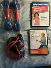 2 Weight Watchers Fitness DVDs The Ultimate Dance Party  Time Crunch Training
