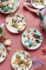 Anthropologie Nathalie Lete Titania Dessert Plate Parrots New Sold Out