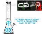 BUBBLE BEAKER 14 Straight Tube Glass Water Pipe its a Waterpipe not bong
