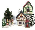 1995 Lemax Village Collection Dickensvale Lighted Christmas Village Inn w/EXTRAS