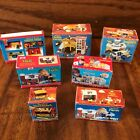 Lot Dollhouse Miniatures Cardboard Boxes Vtg Fisher Price Little People Playset