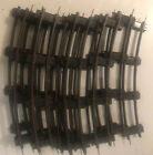 Lot of Vintage AMERICAN FLYER S Scale Curved Train Track 14 Pieces