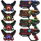 ArmoGear Infrared Laser Tag Blasters and Vests Blue Red Green Orange