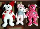 Two I Love Lucy Signature Series Beanie Bears Limited Edition + Episode #39 Bear
