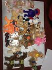Lot of 22 TY Beanie Babies Shaq Punchline Dimples Aware Look Retired