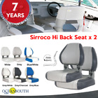 Oceansouth USA Deluxe Hi Back Boat Seats Folding x 2