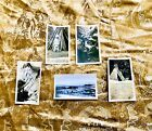 Vintage Original Pictures of Native Americans Teepees Scenic Set of 5 Photos