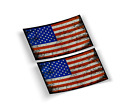 AMERICAN GRUNGE FLAG DECAL USA FLAG VINYL STICKER BUY 1 GET 2 FREE SHIPPING