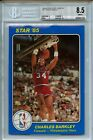 1984-85 Star Court Kings 5X7 #41 Charles Barkley BGS 8.5 Rookie 76ers Hot Card!!