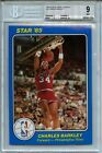 1984-85 Star Court Kings 5X7 #41 Charles Barkley BGS 9 Rookie 76ers Hot Card!!!