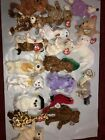Ty Beanie Baby Bianca - Cat Dog Bear Lot Of 19 Jumpshot Look
