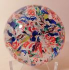 LOVELY Antique AMERICAN END OF DAY SCRAMBLE Art Glass Paperweight Circa 1890
