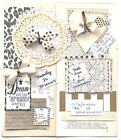 Junk Journal Supplies Scrapbook Paper Vintage Pages Quotes Bows 75+ Items