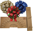 Pro Bow The Hand Bow Maker Large Make Custom 3 Ribbon Bows for Holiday Wre