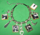 50 Shades of Gray Slider Charm Bracelet
