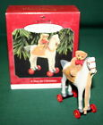 HALLMARK ORNAMENT 1998 A PONY FOR CHRISTMAS # 1 IN SERIES