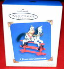 HALLMARK ORNAMENT 2005  A PONY FOR CHRISTMAS # 8 IN SERIES