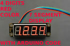 48 Digits Seven 7 Segment Display Module Redgreen With Code For Arduino