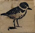 Wood Mounted Rubber Stamp Bird