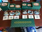 AVON 1989 NATIVE AMERICAN DUCK COLLECTION 6 ducks and shelves w boxes