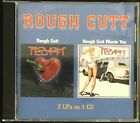 Rough Cutt/ Rough Cutt Wants You- 2 LPs on One Cd- Like New