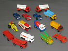 Vintage Mixed MATCHBOX CORGI WHIZZWHEELS MAJORETTES Toy Diecast Car Trucks Lot