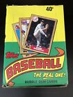 1987 Topps Wax Pack Box 36 Packs Unopened Unsearched