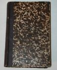 1851 GERMAN RELIGIOUS Book  1872 Book 2 in 1 Antique Fancy Cover