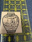 Asian Vase Rubber Stamp Great Impressions F152