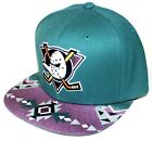 PICK1 Anaheim Mighty Ducks Native OR Weed Brim Mitchell  Ness SnapBack Teal