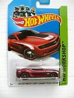 SUPER TREASURE HUNT 2010 HOT WHEELS 2013 CHEVY CAMARO SPECIAL EDITION ON CARD