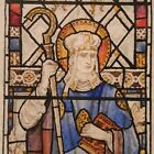 Scotton Church UK Watercolour Stained glass design 1928 J Powell