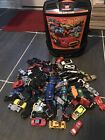 100 car hotwheels cary caseplus 100 Assorted cars And Brand