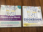 Biggest Loser Cookbooks Flavors of the world  other lot of 2