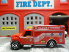 MATCHBOX FIRE INTERNATIONAL TERRASTAR HAZ MAT RESCUE CUSTOM KITBASH UNIT