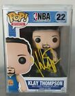 Funko Pop Basketball NBA 22 Klay Thompson Signed Autographed 100 % AUTHENTIQUE