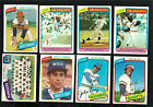 1980 TOPPS LOT 100 + ALL DIFFERENT RANDOM CARDS  NICE STARTER LOT  NM