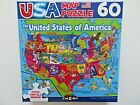 Puzzle 60 Piece United States of America USA Map with Capitals SHIPS FAST