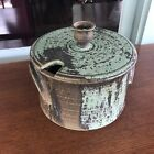 Studio Pottery Stoneware Lidded Tureen Signed Greenway 1971