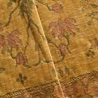 Toasted Beige Floral Panel Chenille Tapestry Decor Fabric Fabric By The Yard
