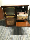 Vintage Admiral 36R45 TV w/ AM/FM Radio and Record Player