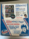 56 Count Ultra Pro 9 Card Protector Pages Trading Card Sleeves Jose Canseco Box