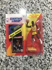 1992 STARTING LINEUP - MAGIC JOHNSON (YELLOW) - LOS ANGELES LAKERS DOME CASE