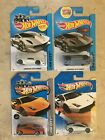 Hot Wheels Lamborghini Sesto Elemento x 2 + Gallardo LP570 4 Superleggera x 2