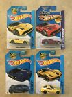 Hot Wheels Ferrari F12 Berlinetta Red x1 + Yellow x 2 + 458 Italia x 1