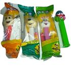 Vintage Lot of 3 Unopened Pez Dispensers and one Sour Watermelon from 1980-90's