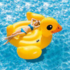 Intex Inflatable Mega Duck Pool Float Lounger Toy Floating Raft Lake Accessory