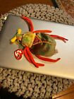 Retired Ty Beanie Baby Scurry the Beetle 2000