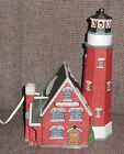 1997 Lemax Plymouth Corners Village Collection Porcelain Rocky Point Lighthouse